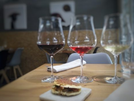 wines and tapas