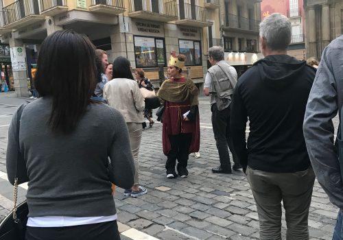 Gincana Teatralizada Pamplona