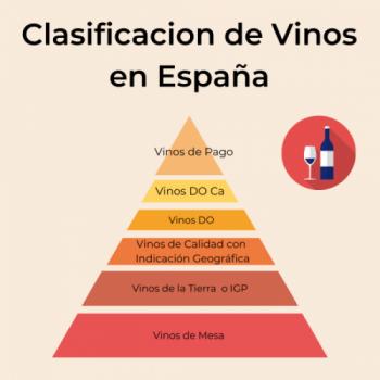 Clasificación Vinos En España